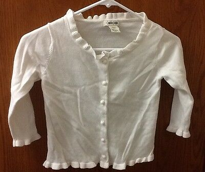 Cherokee Girl Button Front Cardigan Size M (7/8)