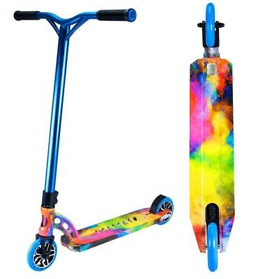 Madd Gear MGP VX7 Extreme Complete Scooter Chalk Explosion Full Wrap - New 2017