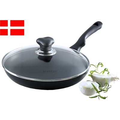 Scanpan - Ergonomic Handled Frypan with Lid 26cm (Made in Denmark)