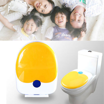 Dual Use Toddler Adult Family Toilet Seat Potty Training Toilet Cover Soft Close