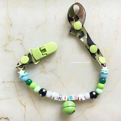 New Baby Paicifier Clips Chain Personalized Dummy Holder Teether Garment Clip