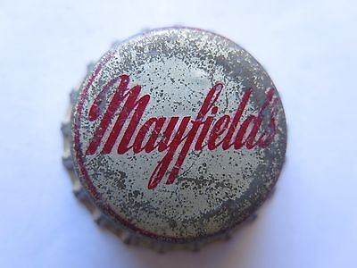 CROWN SEAL BOTTLE CAP or TOP MAYFIELDS SOFT DRINK AUSTRALIA c1950s
