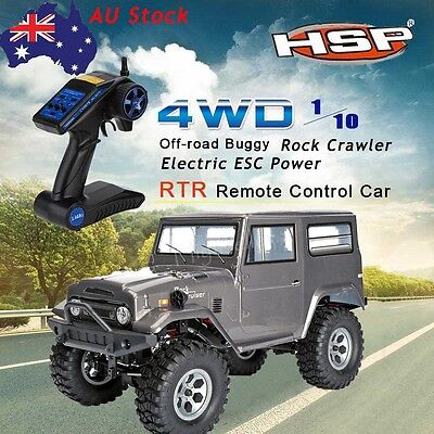 HSP 136100 1/10 Scale Model 4WD Vehicle off-road Rock Crawler RC  Car 2.4G Radio