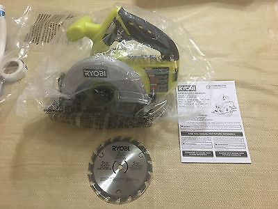 Brand New in Plastic Bag Ryobi 5-1/2in 18V Circular Saw P504G with blade only