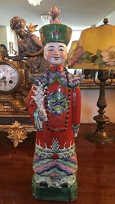 Antique Chinese Porcelain Figuring