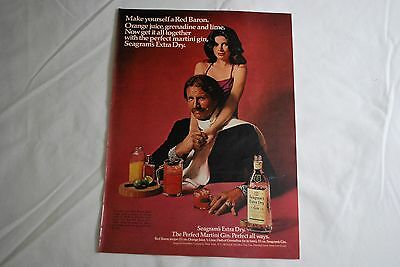 Seagram's Perfect Gin 1973 Playboy Magazine ad - Very Good++