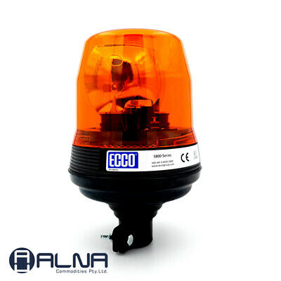 ECCO 5810 Beacon AMBER Halogen Rotating Beacon Safety Warning Light