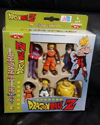Dragon Ball Z AB Toy Coffret # 4 ,Super Guerriers 1989 Mini Figures *Rare* SET 6