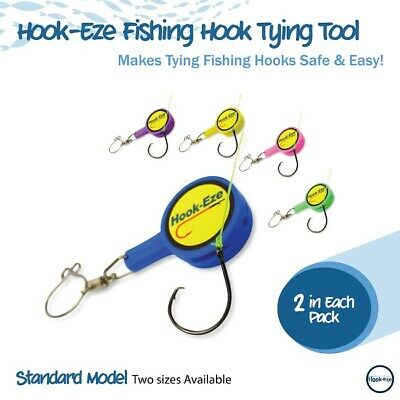 Hook Eze River & Coast Twin Pack Safety Tying Device Hook Cover & Line Cutter