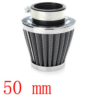 50MM For Motorcycle Power ATV Scooter Cone Race Air Filter Replacement Sales