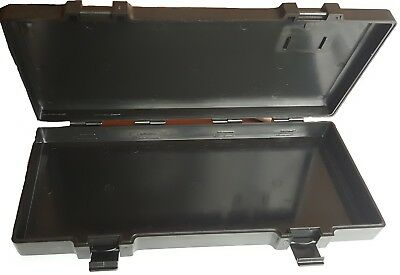 Force Plastic Tool Box with Lid T Series Strong Empty Black Case Organiser Holde
