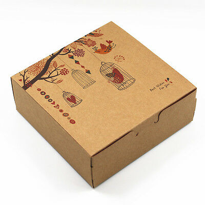 Cookies Biscuit Cupcake Packaging Box Kraft Paper Gift Cake Party Wedding Boxes