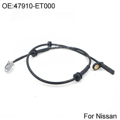 Front Right ABS Speed Sensor For 2007-2012 Nissan Sentra 2.0L 2.5L 47910-ET000
