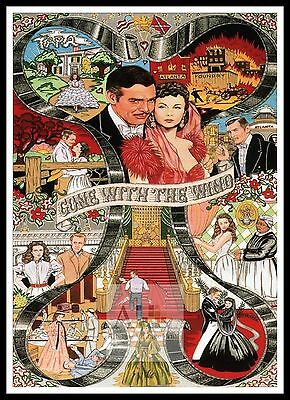 Gone With The Wind   Poster Greatest Movies Classic & Vintage Films