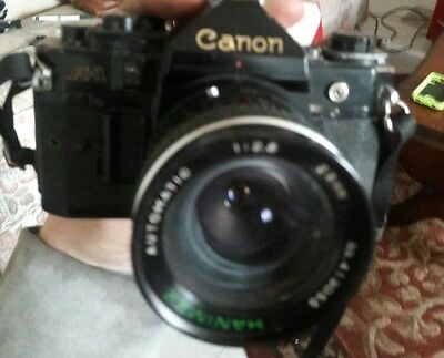 Canon Film Camera A1 w/ 28-55mm Zoom Lens