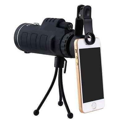 40X60 Monocular Telescope Super High Power Portable HD OPTICs Night Vision US EK