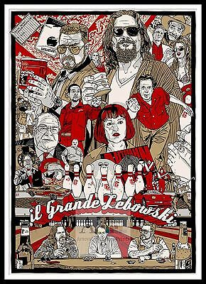 The Big Lebowski 6   Poster Greatest Movies Classic & Vintage Films