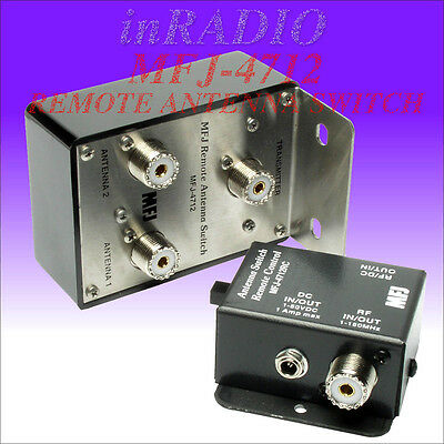 Mfj-4712 - Remote 2 Positions Antenna Switch + Fast Ups Delivery - Mfj4712