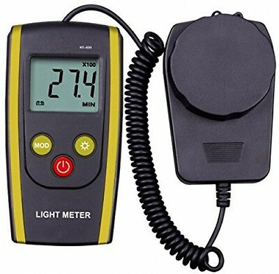 upHere Digital Handheld Photography Light Meter with - Measures Lux and Lumens