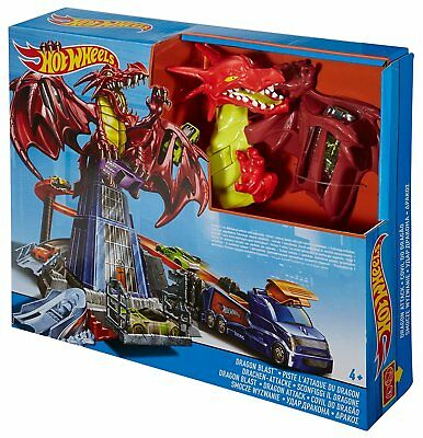 Hot Wheels Drachen-Attacke Spielset von Mattel