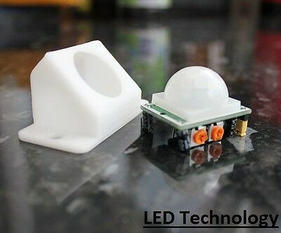 PIR Motion Sensor Detector Module Pyroelectric IR Infrared HC-SR501 + Cover UK