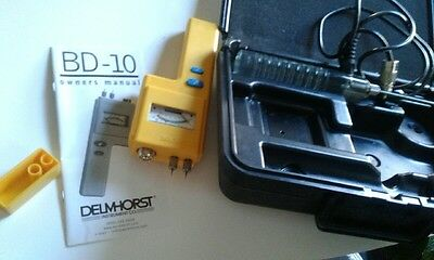 Delmhorst  -   Bd -10      Working  Ex.   Cond.        Our Loss Your Gain