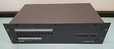 Extron Crosspoint 300 124 Hva 12X4 60-326-16 Xpt300 Wideband Matrix Switcher