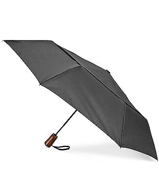 $99 Shedrain Black Arc Vented Canopy Rain Auto-Open Automatic Compact Umbrella