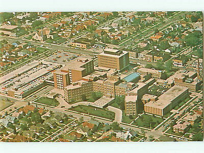 Milwaukee Wis St Josephs Hospital Aerial View Franciscan Sisters Postcard # 6697