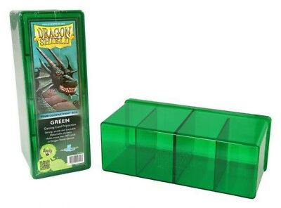 Dragon Shield - 4 Compartment Storage Box Green - Karten Box