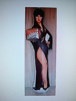 elvira coors light inflatable figure 6 Feet Tall ! NEW ! 1990s