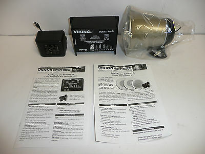 New Viking Paging / Loud Ringer System with 8 Ohm Horn PA-2A
