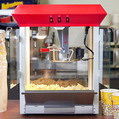 Popcorn Maker Machine Commercial 8 oz Popper Concession Stands Kettle Theater