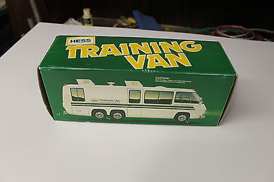 1978 1980 Hess Toy Truck Training Van Original Box with Inserts Lights work Nice