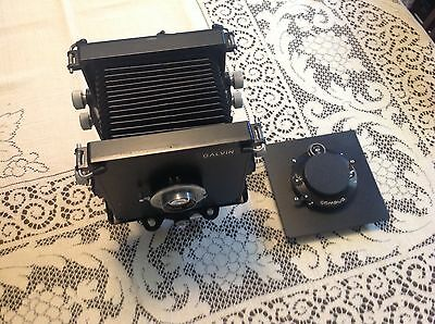Galvin View Camera With (2) 5x5 Lens Boards