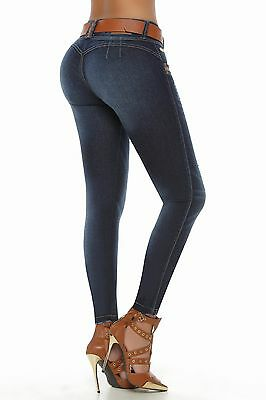 VEROX  Pantalones Colombianos Jeans levantacola 2416 ONLY SIZE 3 AND 11