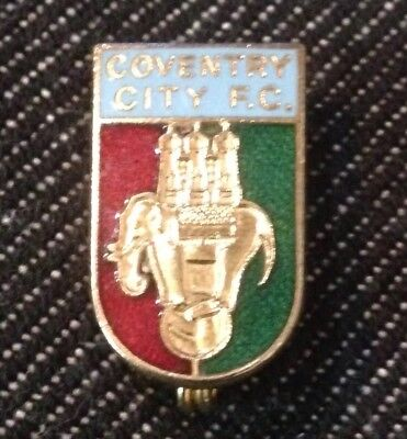 Vintage COVENTRY CITY F.C. Football Pin Badge