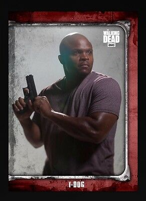 WHAT LIES AHEAD RED T-DOG The Walking Dead Card Trader Digital