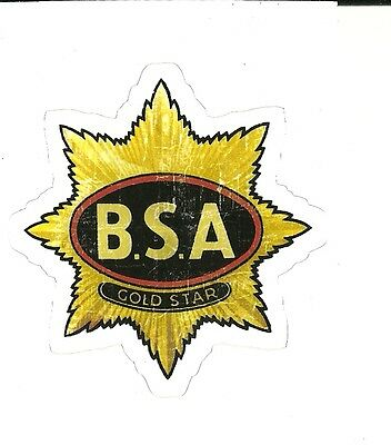 BSA B.S.A.  MOTORCYCLE Sticker Decal