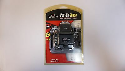 eFilm Pop-Up-Shade from Delkin, for for Nikon D50    (VT#4935)