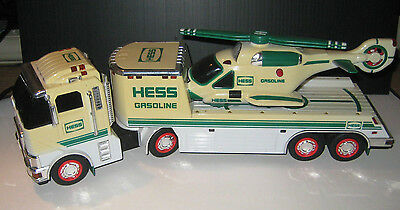 2006 Hess Toy Truck And Helicopter