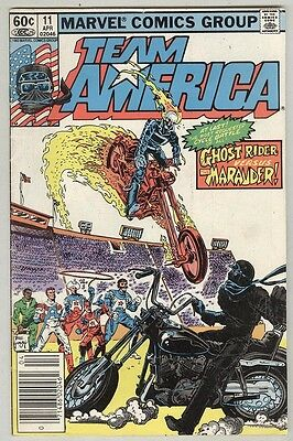 Team America #11 April 1983 VG Ghost Rider