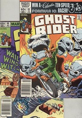 Ghost Rider #65 and #66 VG