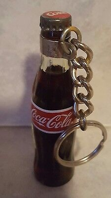Coca-Cola Miniature Liquid Filled Bottle Key Chain