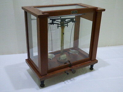 Antique Seeder-Kohlbush Lab Scale With Arthur H Thomas Co. Wood Cabinet