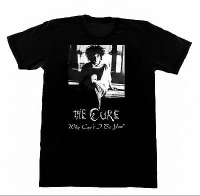 The Cure Why Can't I Be You Tshirt 230 Shirt Vintage Goth Punk Rock Gothic Chick