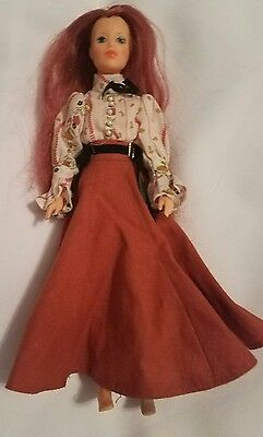 1975 IDEAL JODY OLD FASHIONED GIRL DOLL W/ORIG OUTFIT No Shoes