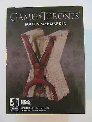 Game of Thrones 2014 SDCC Bolton Map Marker Sealed With Original Box