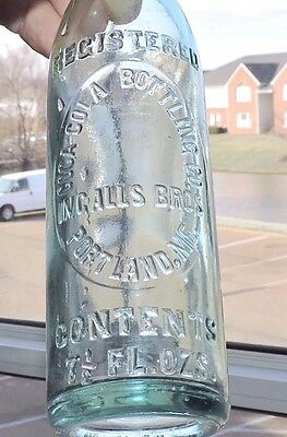 "Rare Original Straight Side Coca Cola Bottle ~ ""  Portland, Me.  ""  Nice  """