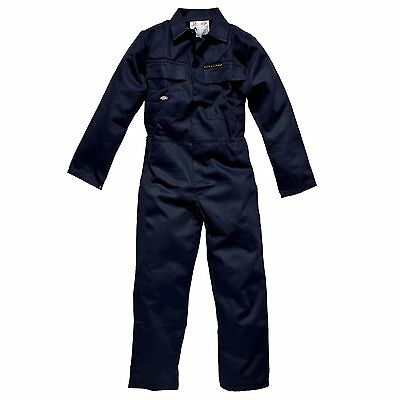 Dickies Proban/Flame Retardent Treated Cotton Coverall Navy Blue Size 54